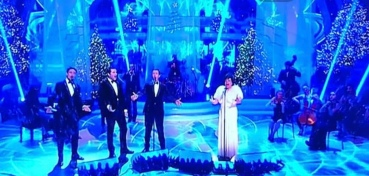 Strictly Come Dancing Christmas Special with Blake and Dame Shirley bassey