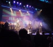 Blake live on stage June 2016