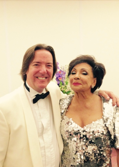 The one and only Dame Shirley Bassey