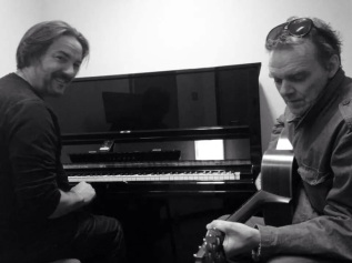 Arranging session with Micky Greaney at Birmingham Conservatoire