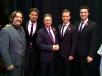 Appearing on the Alan Titchmarsh Show November 2014