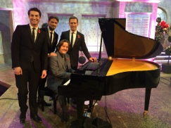 Performing on the Alan Titchmarsh Show with Blake November 2014
