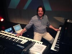 Piano and Keyboards - the usual setup. Alnwick, Northumberland